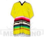 Mexické Pončo Colorado žluté