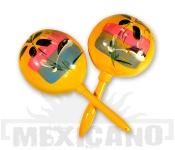 Mexické maracas žluté