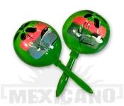 Mexické maracas zelené