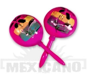 Mexické maracas růžové