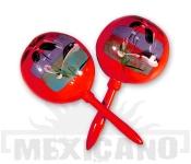 Mexické maracas červené