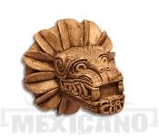 Plastika Quetzalcoatl opeřený had 17cm
