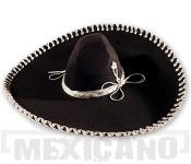 Sombrero Mariachi Brullo černo-stříbrné