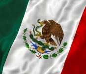 Vlajka Mexiko 150 x 90cm